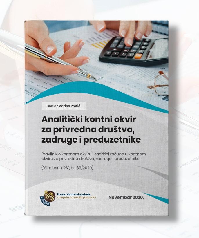Analitički kontni okvir za privredna društva, zadruge i preduzetnike
